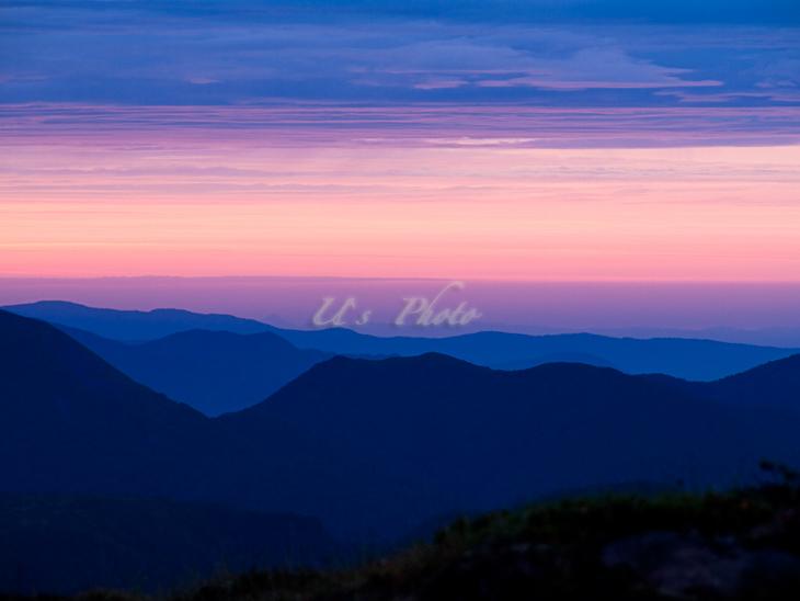 ムラウシ山の朝焼け 2