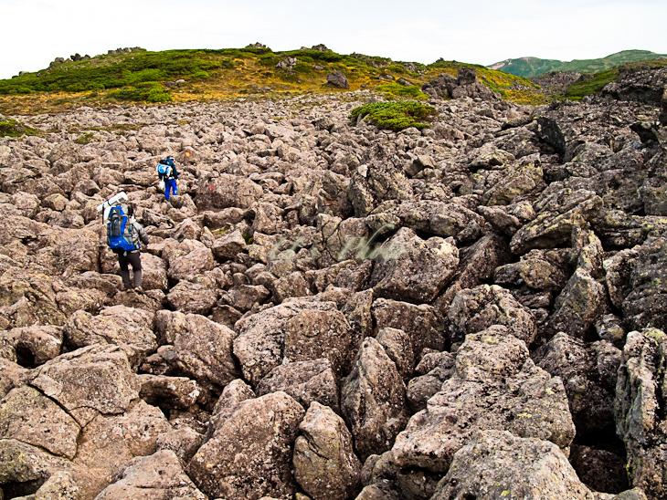 トムラウシ登山 67