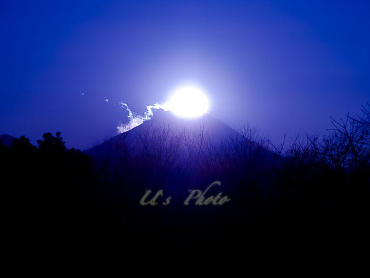 昭和記念公園よりの富士山 2