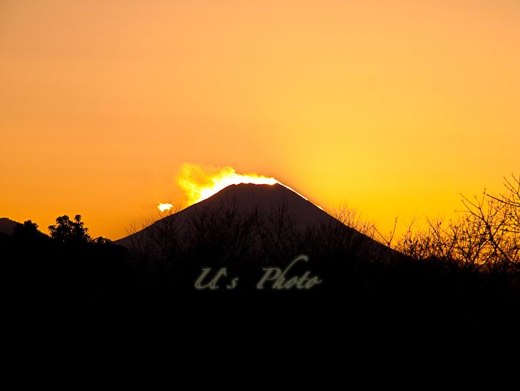 昭和記念公園よりの富士山 3